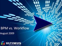 BPM vs Workflow