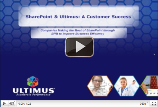 ultimus customer success webinar bpm sharepoint