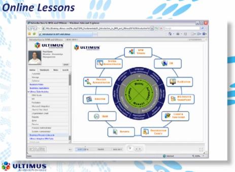 eLearning screenshot