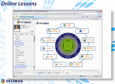 eLearning screenshot