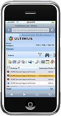 ultimus client iPhone2