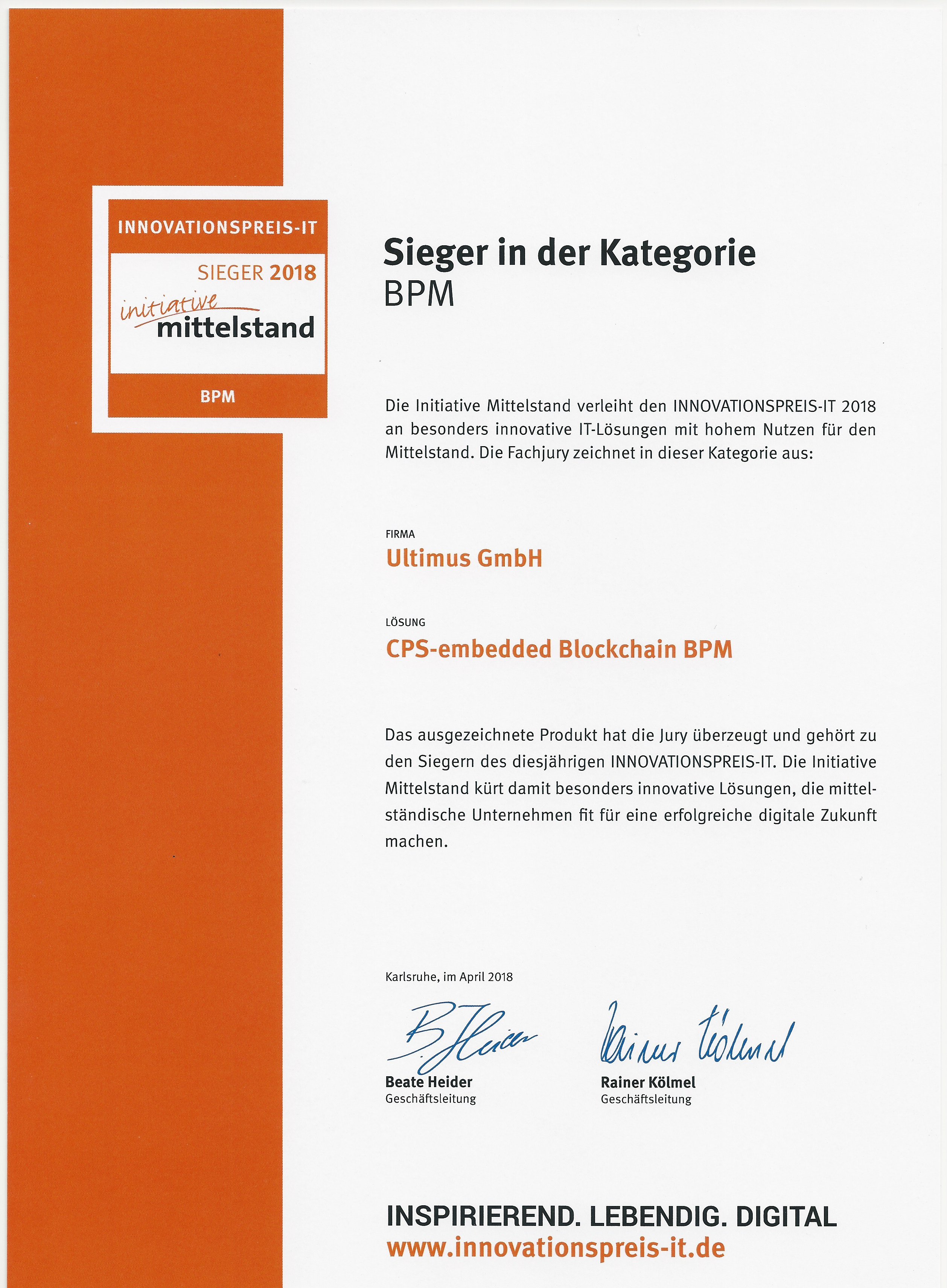 German 2018 IT-Innovation Award-Scan