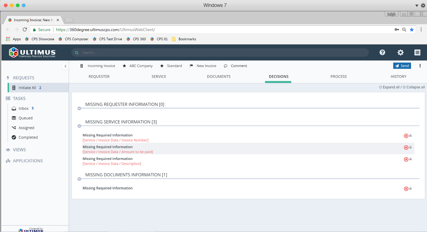 Built-in validations, policies, and business rules